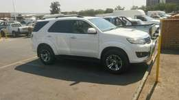 2013 Toyota fortuner 3.0 auto for sale