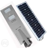 All In One 30W LED Solar Street Light With Battery‎ Active