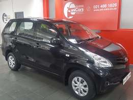 2015 Black Avanza 1.5 SX For Sale