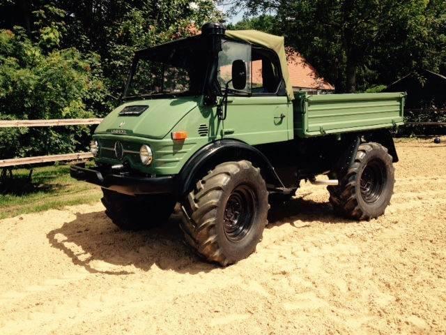 Unimog U 406, U 900, Cabriolet, Agrar, Oldtimer - 1971