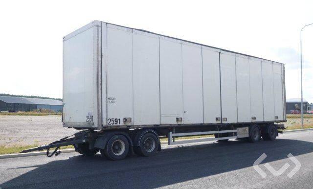Schmitz Cargobull KO 36 4-axlar Box Trailer (side doors) - 09 - 2009
