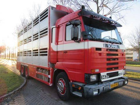 Scania R 143 6x2 - 1995