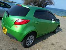 Mazda Demio very clear and good for economic