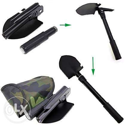 Brand New 2 in 1 Camping Shovel