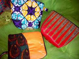 Vintage purses and palm bags