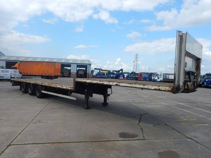 Montracon STEPFRAME 45FT FLATBED TRAILER - 2006 - C217435 - 2006