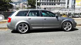 Audi S5 rims with new tyres