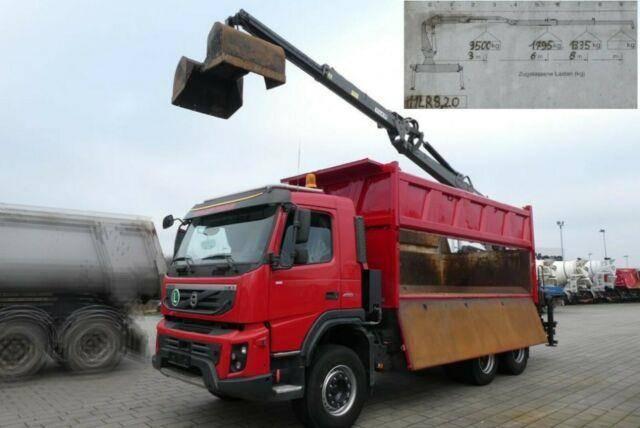 Volvo FMX 450/6x4 3 Achs Kipper Heckkran PENZ Kran 11 - 2012