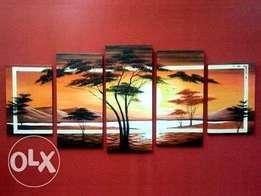 Cool seascape hand painted art jobs