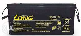 Long Deep Cycle AGM Battery 12 Volt 200ah For Inverters