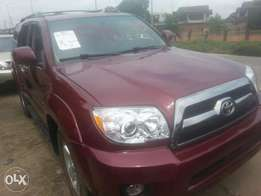 Tincan cleared tokunbo toyota 4runner 07