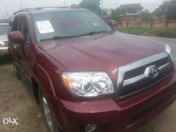Tincan cleared tokunbo toyota 4runner 07 Apapa - image 1