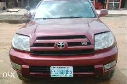 Clean registered Toyota 4runer for sale
