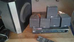 LG dvd & surround sound