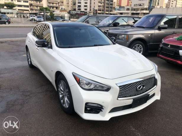 newly arrived Infiniti q50 2014 very clean