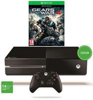 XBOX One 500GB with 1 controller