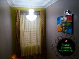 Curtain Rod mounting