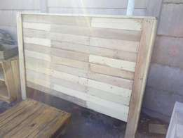 Wooden headboard for sale
