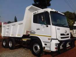 Nissan UD 460 10 Cubic Tipper ZF Water