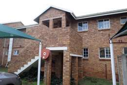 I'm renting out a 2 bedroom Cluster in Highveld.