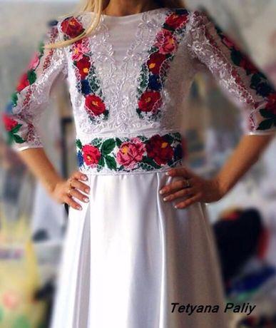 Вишите плаття в українському стилі  7 000 грн. - Весільні сукні ... 57f7a4da68385