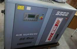 Solidair SS22 8.5 bar single screw compressor