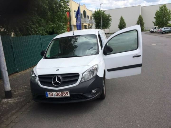 Mercedes-Benz Citan WINTER Diavia Kühlkasten 109 CDIextralang - 2015