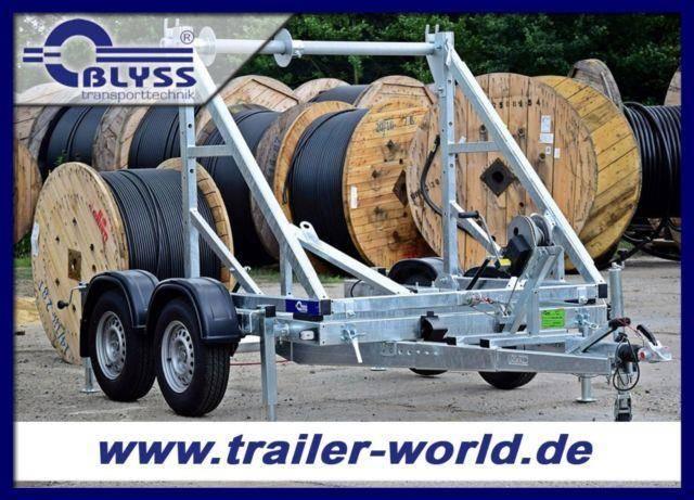 Blyss Kabeltrommeltransporter 2,7t GG 475x232x217cm