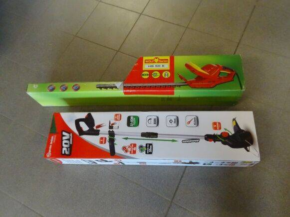 Sale garden technic cbe20vli25t hedge trimmer for  by auction