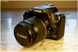 Canon eos 1000d with all accessories