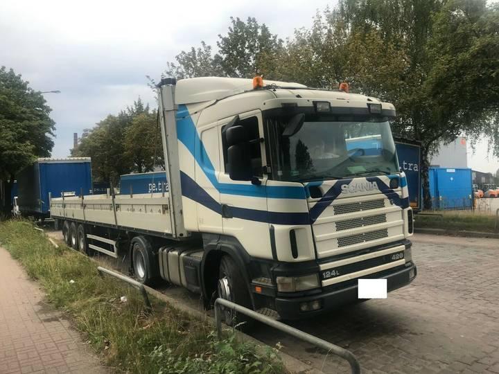 Scania 124 420.400.Retarder Ac. Hydroulik.Manual - 2003