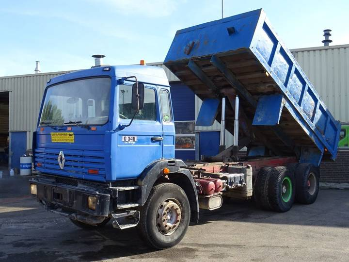 Renault G340 Maxter Kipper 6x4 Good Condition - 1997