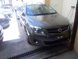 Toyota Fielder Grey 2WD with alloy Rims and roof rails