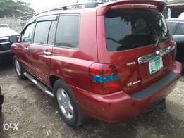 super clean highlander 2005 model limited edition 3 rows