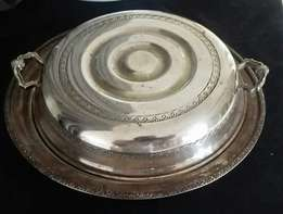 Antique Silver Bowl... Looks Beautiful..