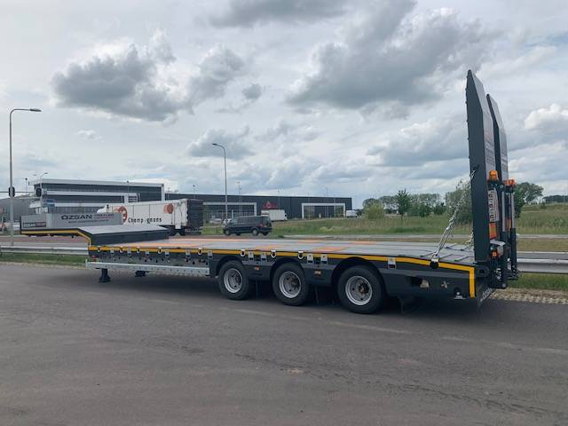 OZSAN OZS-L3 3 Axle Low-Bed Trailer - 2019