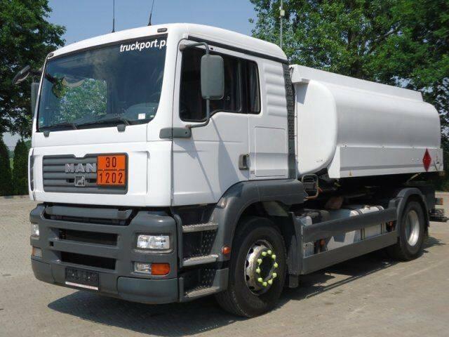 MAN TGA 18.363 4x2 EURO3 Tankwagen Esterer - 2003