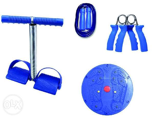 Brand New Spring Pull + Rope + Grips + Waist Twister