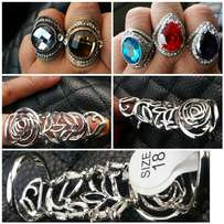 R100 each Stunning rings all sizes available
