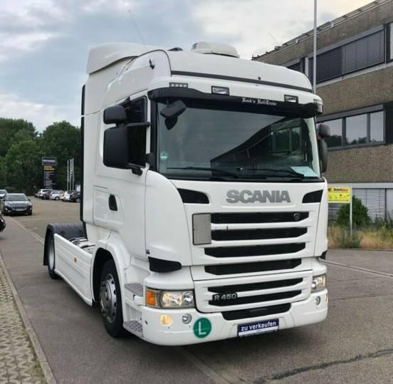 Scania R450LA4X2MNA Standklima/Spoiler/FLC/ACC/SCR Only - 2015