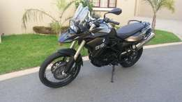 2013 BMW F800 GS FSH, accident FREE