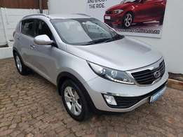2012 Kia Sportgae 2.0i Auto, 166 000 km for R 169 995