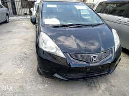 Classy Honda Fit With alloy wheels Navigation system
