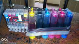 Epson continuous ink supply system (Ciss)