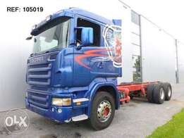 Scania R500 6x4 Chassis Euro 5 - To be Imported