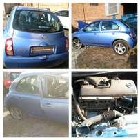 Nissan Micra,Almera,Tiida and X trail stripping for spare part