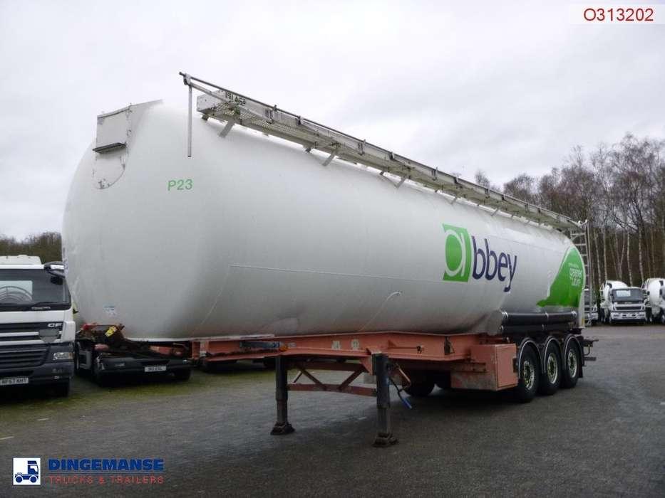 LAG Bulk tank alu 60.5 m3 / 1 comp (tipping) - 2003