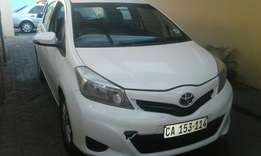 2013 Toyota yaris 1.5i 6 speed very good condition