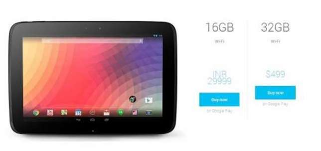 Samsung nexus tablet 10 inch with a charger it has a flash light good Kempton Park - image 4
