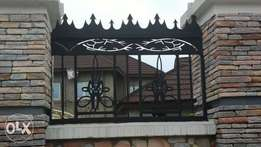 CNC costumed designs (railing and fence tops)